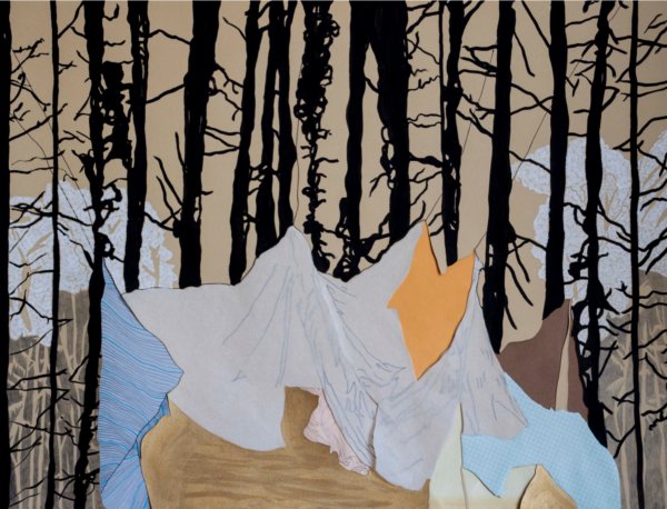 forest houses a tent shelters a forest – Angélica Teuta